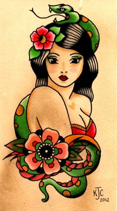 gorgeous lady by katie calderbank