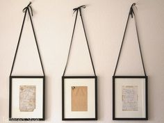 DIY Framed Family Recipes as Kitchen Art; frame your grandmother's handwritten recipe cards as kitchen decor! Love this idea! Do It Yourself Furniture, Do It Yourself Home, Diy Interior, Interior Design, Kitchen Interior, Marco Ikea, Framed Recipes, Old Recipes, Family Recipes