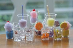 Raising Sweet Souls....: American Girl Doll Drinks! How to make