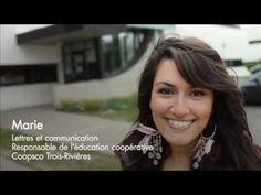 Vidéo «Ma vie à l'UQTR» Wow! Trois Rivieres, Marie