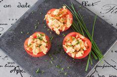 Gevulde tomaat met roerei & gerookte zalm - MiCook