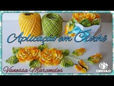 addicted flower crochet, leaf, bud and butterfly for .For Vanessa Marcondes application. Crochet Stitches Chart, Crochet Motif, Irish Crochet, Crochet Designs, Crochet Doilies, Crochet Patterns, Crochet Hats, Crochet Leaves, Crochet Flowers