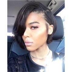 Cute short hairstyles wigs for black women lace front wigs human hair wigs african american wigs Black Bob Hairstyles, Sleek Hairstyles, Wig Hairstyles, Straight Hairstyles, Hairstyles 2016, African Hairstyles, Layered Bob Hairstyles For Black Women, Hairstyles Pictures, Short Hair Cuts