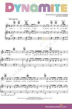 Guitar Chords For Songs, Easy Piano Sheet Music, Piano Music Notes, Saxophone Sheet Music, Music Guitar, Music Lyrics, Song Notes, Kalimba, Piano Teaching