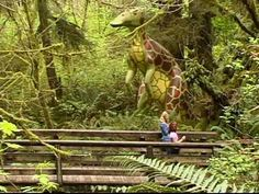 Welcome to the Prehistoric Gardens - Gold Beach Oregon, similar to Dinosaurland in VA