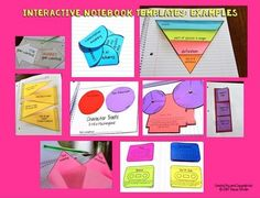 Interactive notebook foldable templates (blank) that you can use for personal & commercial use. (625 image files) #foldables #interactivenotebooks
