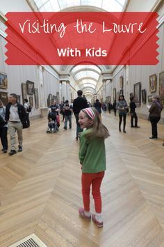 Visiting the Louvre with kids can be fun and educational provided that everyone is properly prepared and the visit is focused and limited to 2 or 3 hours.