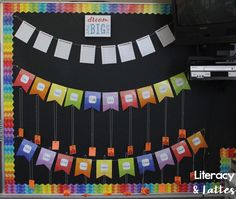 Brag Tag bulletin board - I love the Painted Pallet! 4th Grade Classroom, Classroom Bulletin Boards, Classroom Behavior, Classroom Crafts, Classroom Themes, Classroom Management, Behavior Management, Class Decoration, School Decorations