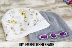 Embellished | 10 Easy DIY Ways To Make The Perfect Winter Hat