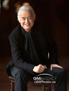 Legendary lead guitar player Jimmy Page's interview in New York City   on Wednesday May 14, 2014. Craig Robertson/Toronto Sun/QMI Agency