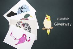It's my birthday April and I want to celebrate with you all! I'm running a giveaway for this one of kind papercut Cockatiel bird and your choice of one of my Glicee prints, all posted to you. Paper Animals, Cockatiel, A5, Paper Cutting, Giveaway, Bird, Running, Birthday, Prints