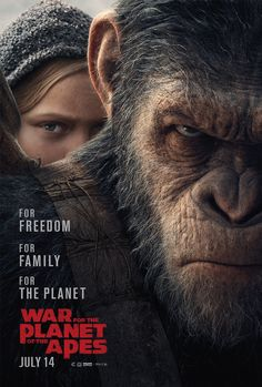 WAR FOR THE PLANET OF THE APES | In theaters July 14, 2017