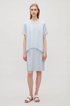 COS   Circle cut layer dress