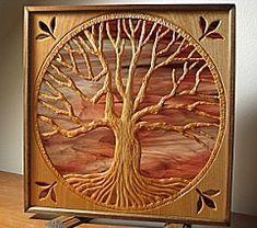 Oak Tree Carving