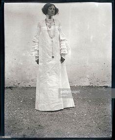 Costume design by Gustav Klimt, produced in Gustav Klimt, Franz Josef I, Divas, Design Creation, Art Deco, Art Nouveau, Fashion History, Fashion Tips, 20th Century Fashion