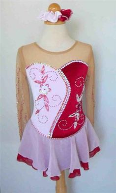 Winter Sports Cute Sharene Skatewear Competition Dress Beaded With Swarovski Crystals To Make One Feel At Ease And Energetic Sporting Goods