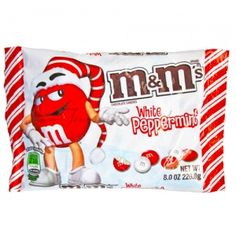 "Sweet and delicious ""White+Peppermint+M&M's+-+8+oz+Bag"" from @TemptationCandy! Give in to Temptation!"
