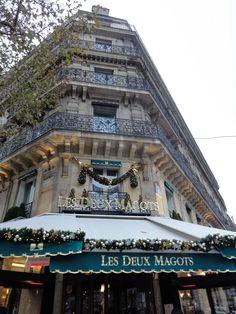 Les Deux Magots,  Saint Germain des près