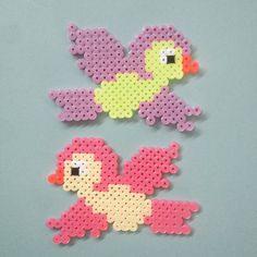 Birds hama beads by Michele Bay Olsen