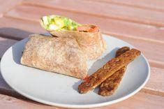 Tofu breakfast wrap...sounds yummy! Frieddandelions.com
