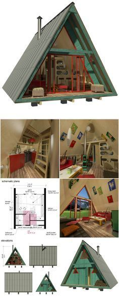 Build This Cozy Cabin   DIY   Nice To Know   Pinterest   Sleeping     25 Plans to Build Your Own Fully Customized Tiny House on a Budget