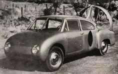 REINHARD HORTEN Original B/W photo, 1954, streamlined : Lot 5738