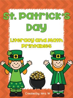 FREE!!! St. Patrick's Day Literacy and Math Printables