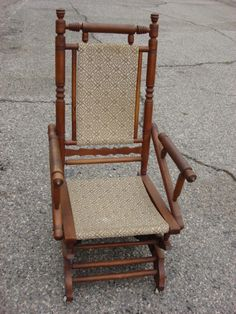 Charming Anquic Rocker Chairs | American Antique Rocking Chair Victorian Antique  Furniture