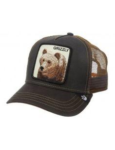 23b75d9e Goorin Bros. Grizz Trucker cap brown Street Style 2018, Farm Animals,  Closure,