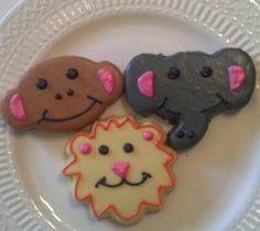 Jungle Animals Cookies