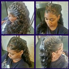 Outstanding 1000 Images About Hair On Pinterest Quick Weave Protective Short Hairstyles Gunalazisus