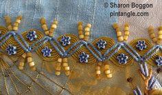 zigzag chain stitch sample