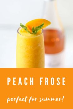 May I suggest this refreshing peach frose?? Use your favorite rose wine to make this sweet, tangy, and perfect cocktail for humid summer days. #aclassictwist #peachfrose #summerdrinks #summercocktails Refreshing Summer Drinks, Summer Cocktails, Best Dessert Recipes, Fun Desserts, Traditional Easter Desserts, Peach Margarita, Soda Recipe, Trifle Pudding, Black Food