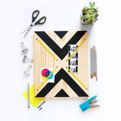 """I was so excited to bust out my new drill for this DIY! Making a memo board today over on #ispydiy. Perfect weekend project! #ispymydiy"""