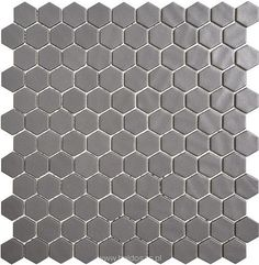 Mozaika Hexagon Nature Glass Grey Onix 30,1x29