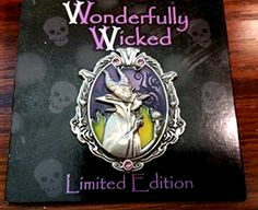 Wonderfully Wicked Collection Maleficent LE Disney Pin 108274