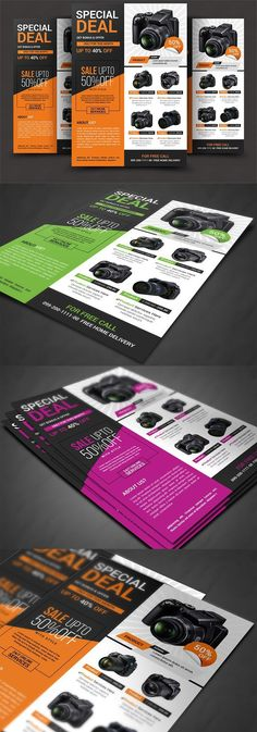 This flyers is made in photoshop the files included are help file and photoshop psd's. Graphic Design Cv, Web Design, Layout Design, Flyer Layout, Brochure Layout, Brochure Design, Catalogue Design Templates, Catalog Design, Promotional Flyers