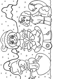 frosty the snowman coloring pages.html