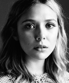 """ I was embarrassed that I even wanted to become an actress because coming from L.A., with two older sisters in the business and a mom who ... Elizabeth Olsen is perfection"