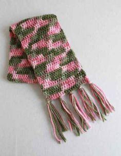 Free Crochet Pattern Super Easy Scarf #98