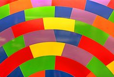 "Sol LeWitt's ""Whirls and twirls (MTA), 2009"""