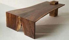 Corner join live edge table