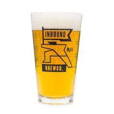Inbound BrewCo Pint Glass
