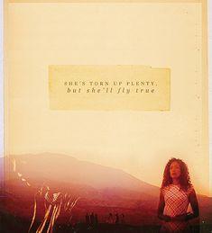 She's torn up plenty, but she'll fly true. *sob*