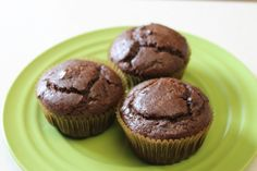 Dairy-Free Egg-Free Double Chocolate Chip Muffins