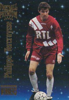 Philippe Vercruysse (FC Metz) Fc Metz, Football, Spiderman, Superhero, Sports, Fictional Characters, Vintage, Projects, Soccer