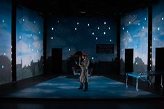 Dead Man's Cell Phone. Guilford College. Scenic design by Robin Vest. 2015