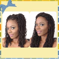 2 Quick & Easy Loc Hairstyles under 5mins/Jungle Barbie
