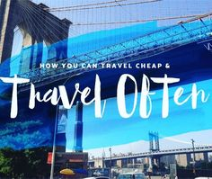 Want to know how you can travel more often and still be able to pay rent? Check out my Top 10 Budget Travel Tips. Link in the description!