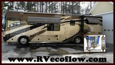 The RV Ecoflow Water Conditioner and Filtration System makes a great alternative to bottled water, reverse osmosis, distillation and Ultra Violet technologies. www.RVecoflow(dot)com